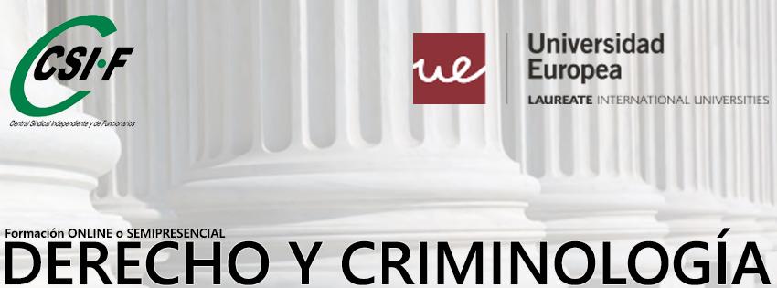 DERECHO Y CRIMINOLOGÍA