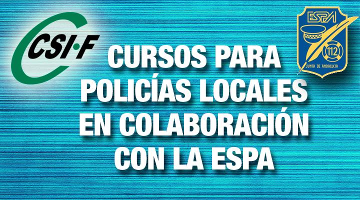 Cursos para Policías Locales