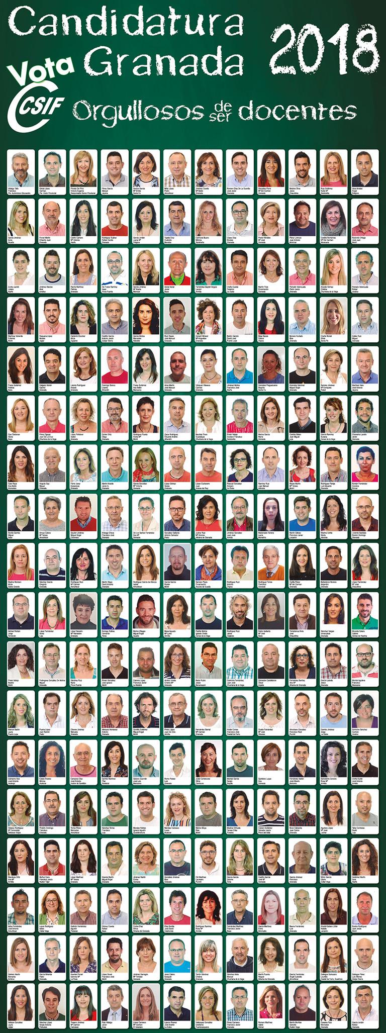 Candidatura Educación CSIF 2018