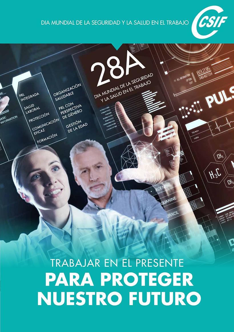 Cartel Día Seguridad Trabajo 2019 CSIF
