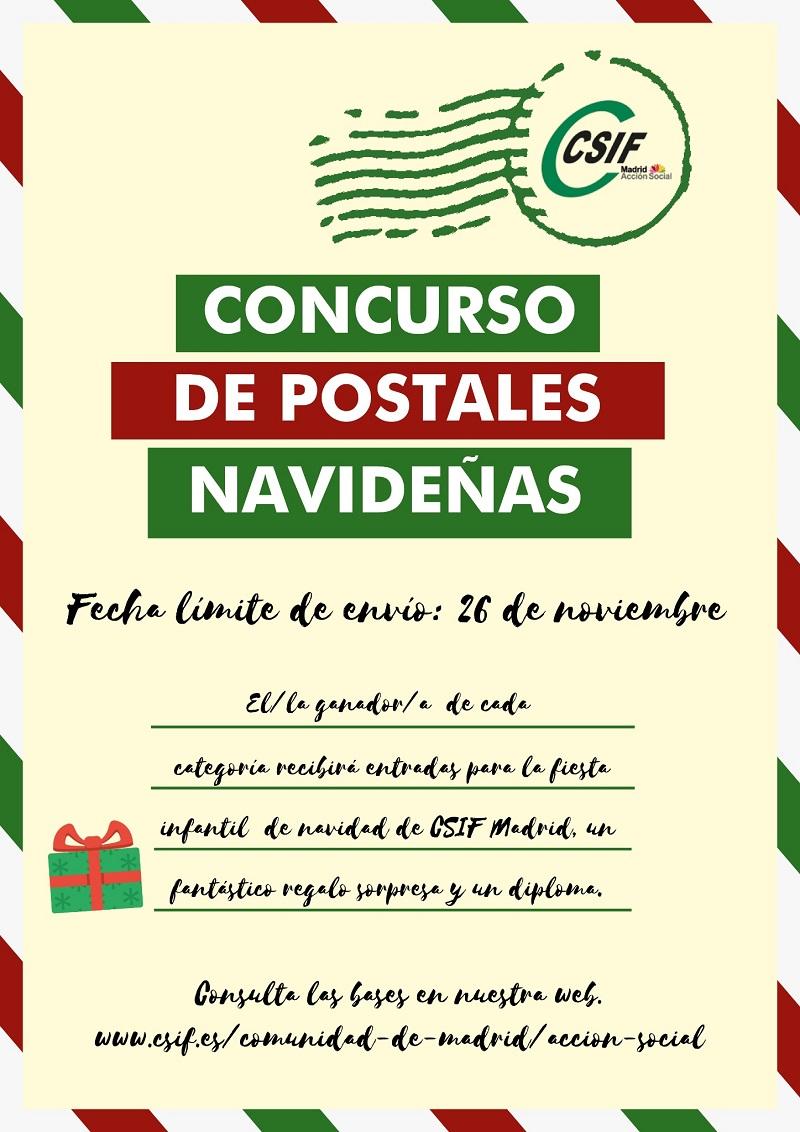 Concurso Postales Navideñas CSIF Madrid
