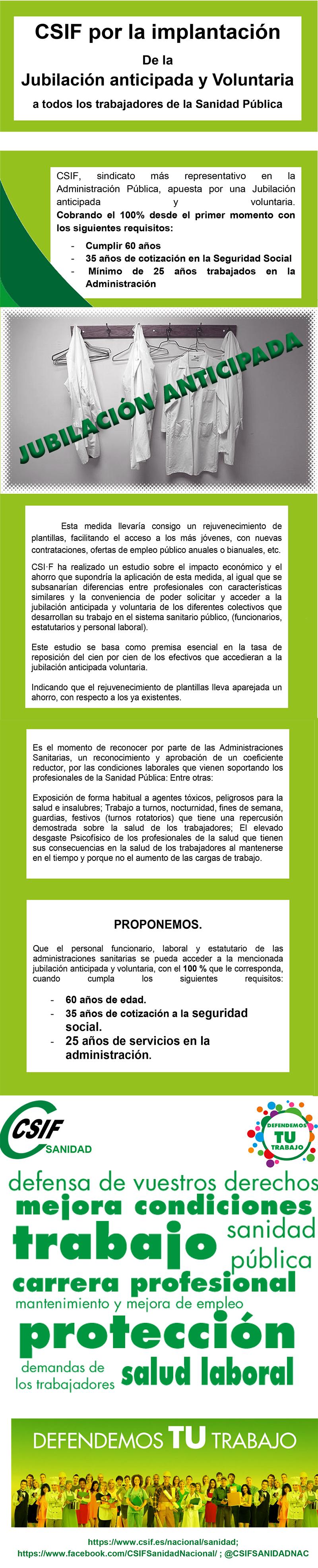 diptico jubilacion CSIF Sanidad