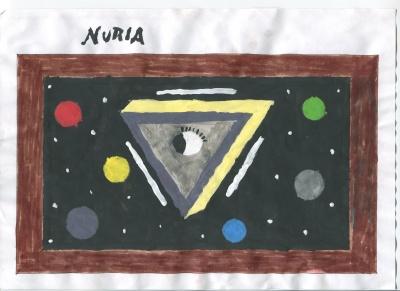El ojo de Egipto (Nuria Sánchez) Concurso de pintura infantil CSIF Ciudad Real