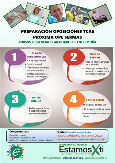 Formación CSIF TCAE