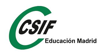 Logo CSIF EDUCACION MADRID