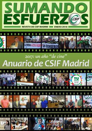 Sumando Esfuerzos enero 2018 - CSIF Madrid