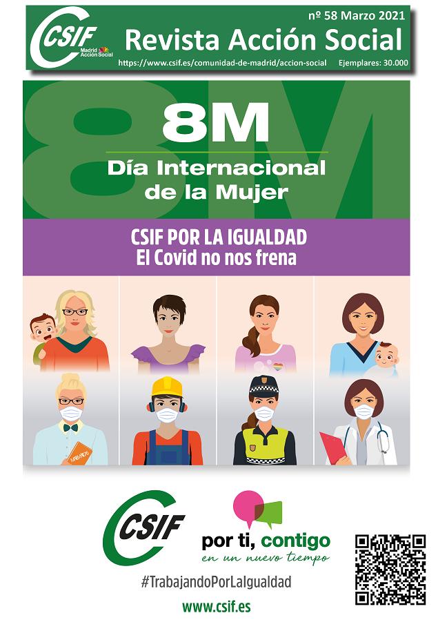 Revista CSIF Acción Social Madrid marzo 2021
