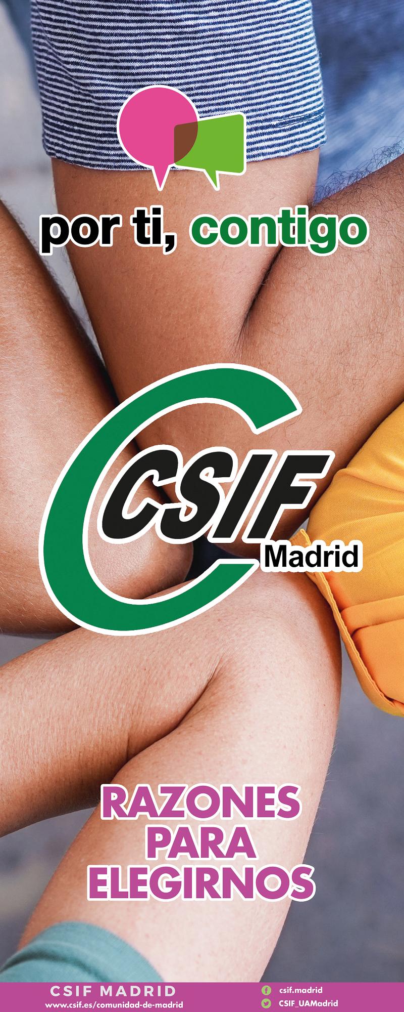CSIF Razones para elegirnos web 1