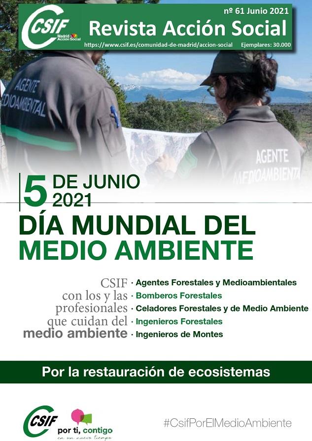 Revista nº61 Acción Social junio CSIF Madrid
