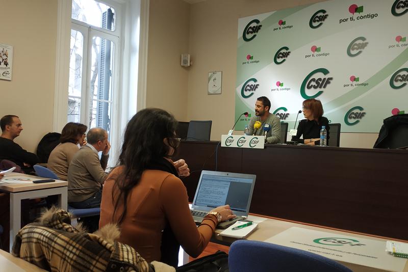 Rueda prensa CSIF Madrid