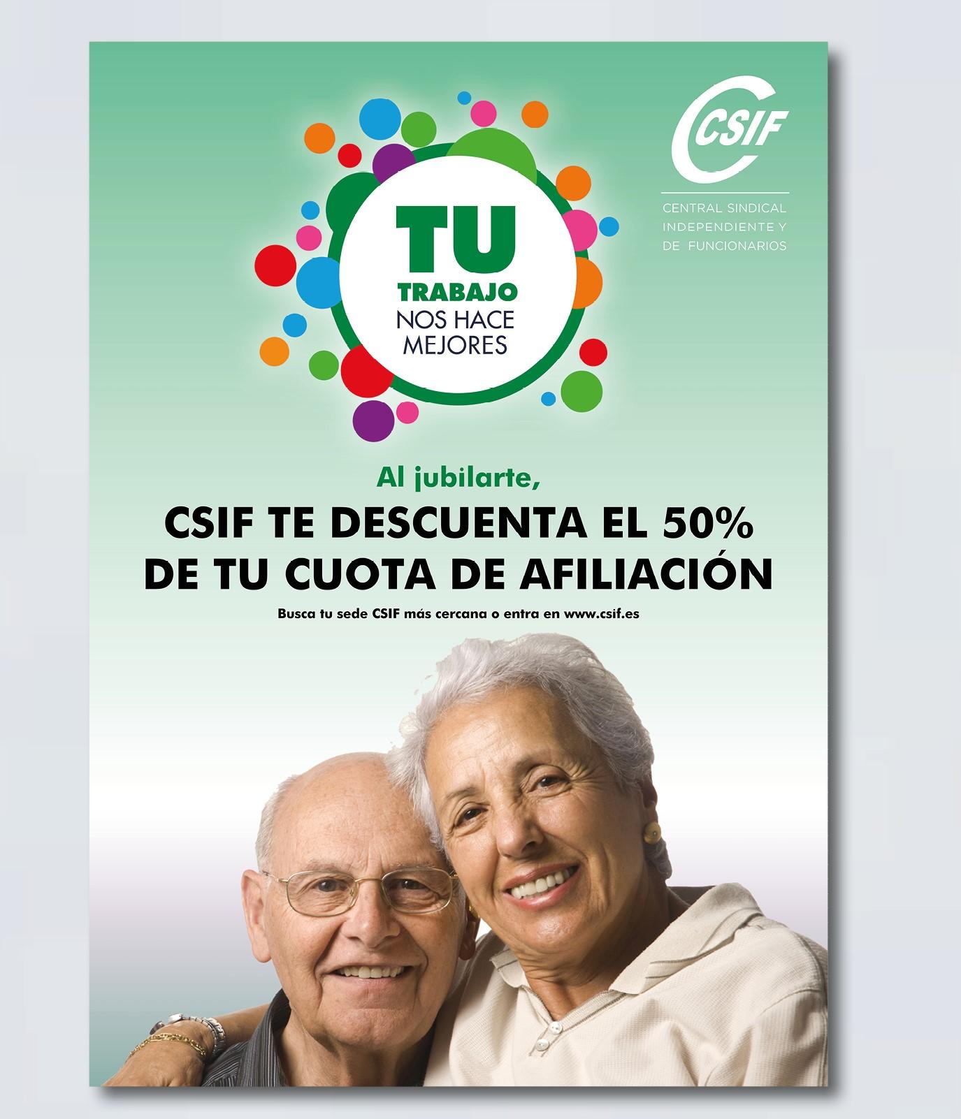 Cuota de Jubilación CSIF
