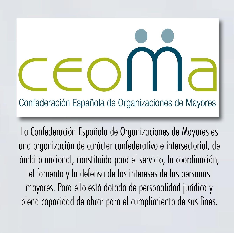 CEOMA Confederación Española de Organizaciones de Mayores