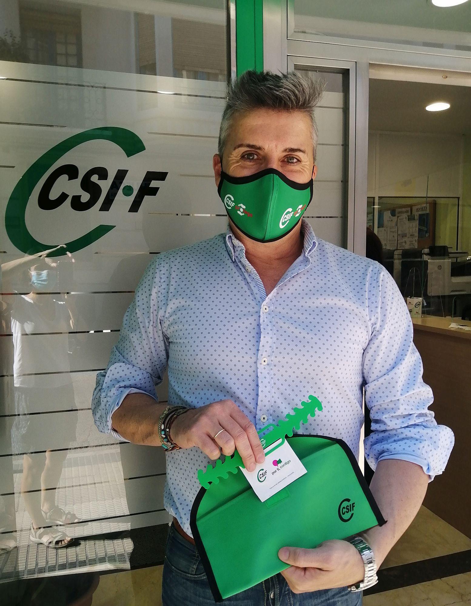 Alberto Juan, Presidente de CSIF UP Zaragoza