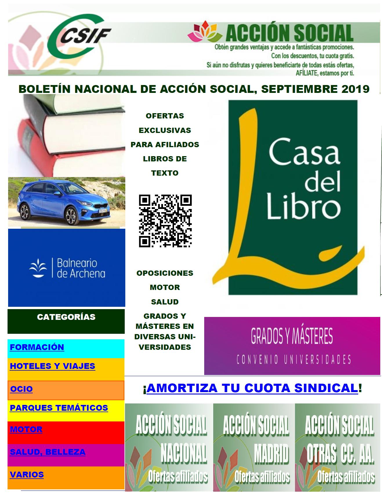 Acción social septiembre