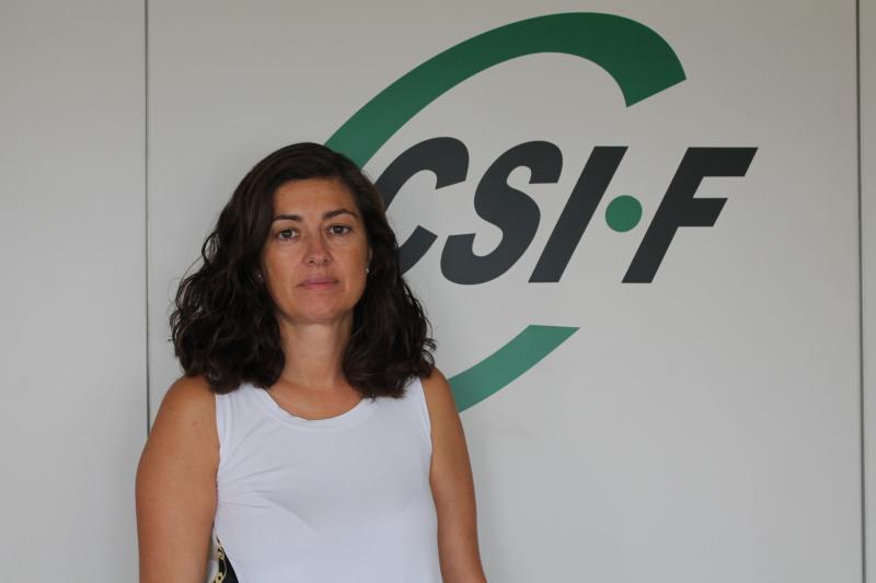 Alicia Torres, vicepresidenta de CSI·F Comunidad Valenciana