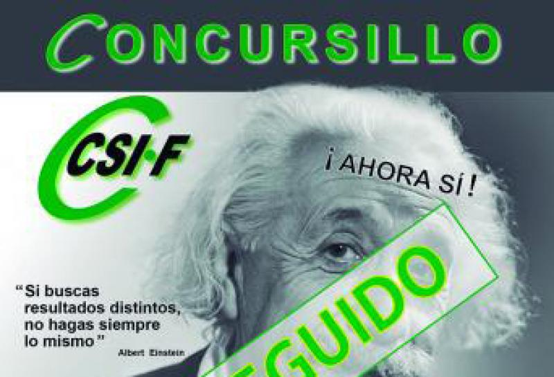C O N SE G U I D O - El Concursillo es ya una realidad para los docentes andaluces
