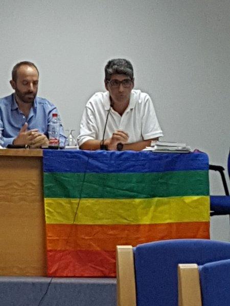 Roberto Bisbal, durante su intervención