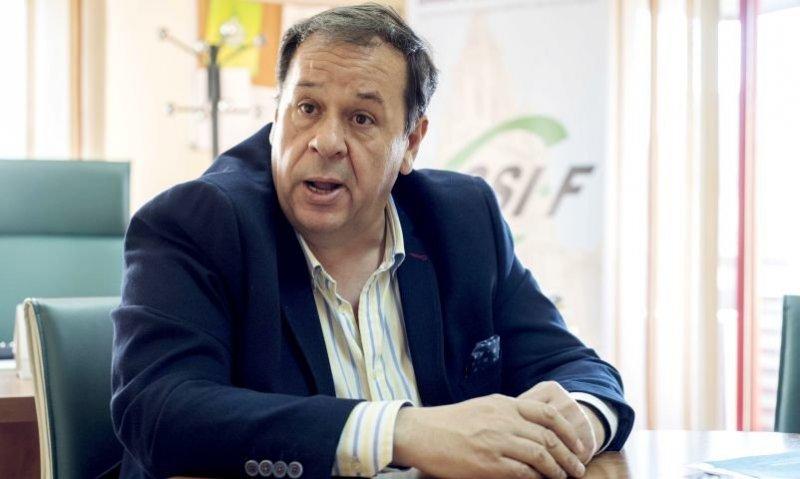 El presidente de CSIF Castilla-La Mancha, Julio Retamosa