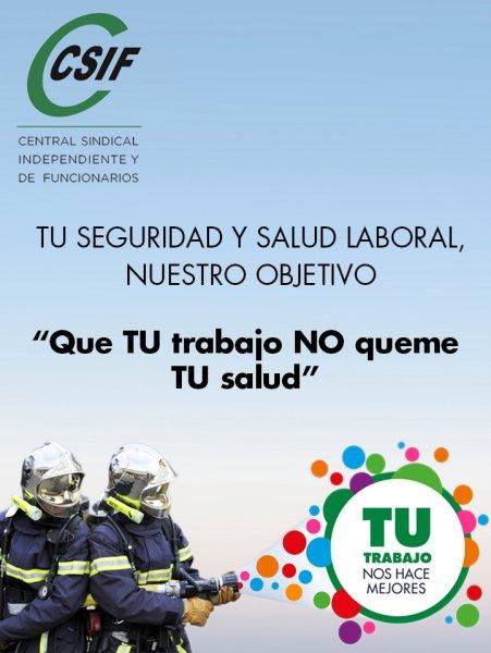 Campaña de Prevención de Riesgos Laborales en Bomberos