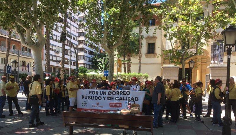 Éxito y seguimiento del paro y de las protestas convocada en Murcia.
