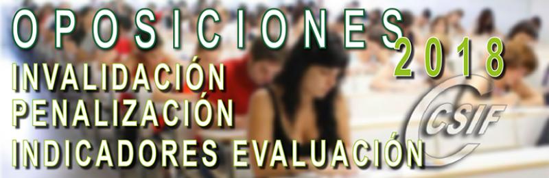 Indicadores de Evaluación, invalidación y Penalización de los Tribunales - 2018