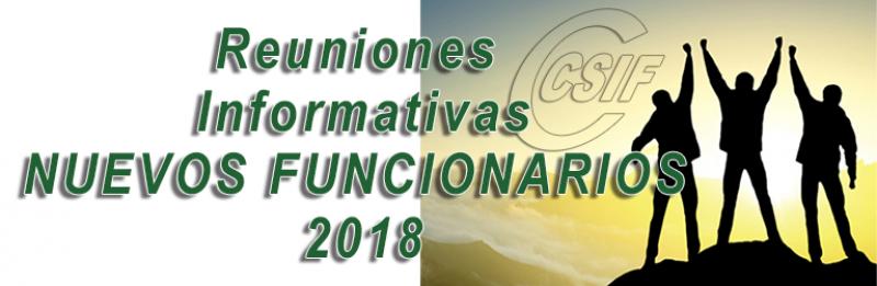 Jaén - Reunión Informativa NUEVOS FUNCIONARIOS 2018