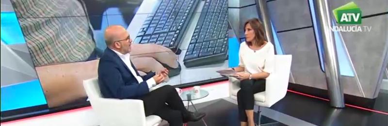 """José Luis Heredia destaca en Canal Sur """"la influencia de las 35 horas en la creación de más de 25.000 empleos públicos"""""""