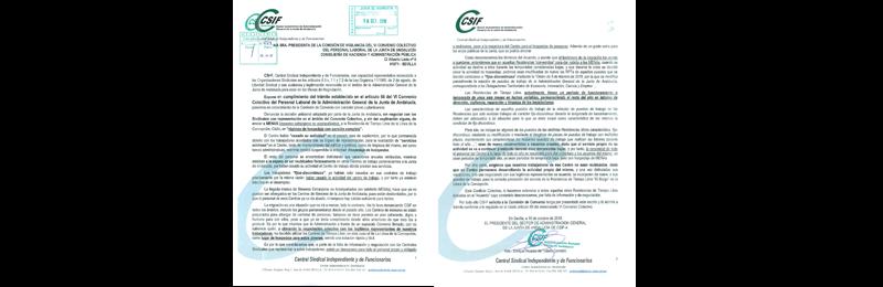 CSIF-A presenta demanda de conflicto colectivo tras la reapertura de dos residencias de tiempo libre para acoger a menores inmigrantes