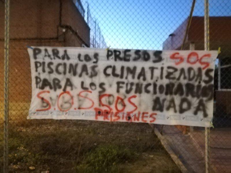 Más de 700 trabajadores en la Región de Murcia están llamados hoy a secundar la segunda jornada de huelga general de Prisiones
