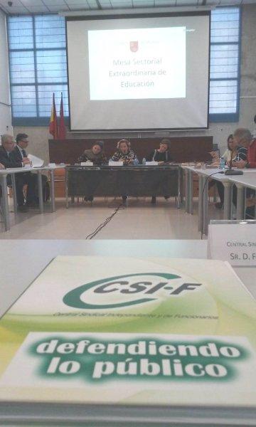 Éxito rotundo de CSIF Educación en su propuesta para la OPE 2019