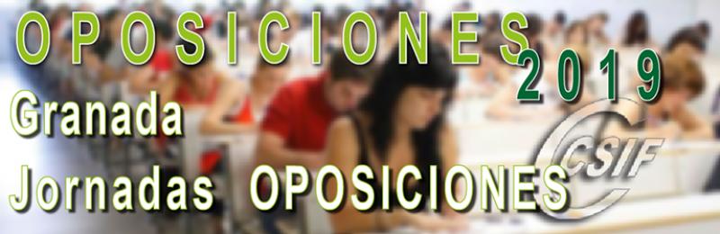 Granada - Jornadas de OPOSICIONES 2019