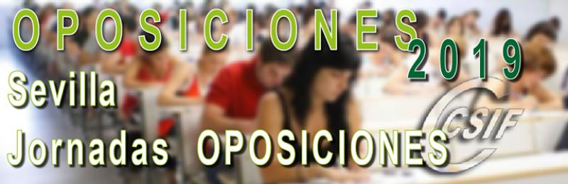 Sevilla - Jornadas de OPOSICIONES 2019