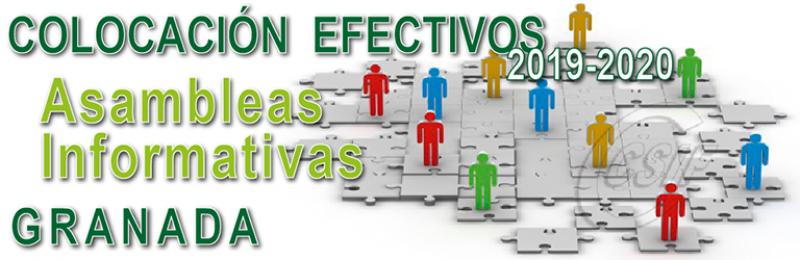 Granada - Asambleas Informativas de Colocación de Efectivos 2019-2020