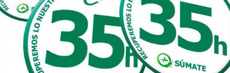 CSI-F pide el mantenimiento de las 35 horas