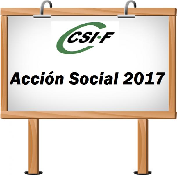 Acción Social 2017 - Ámbito Ministerio
