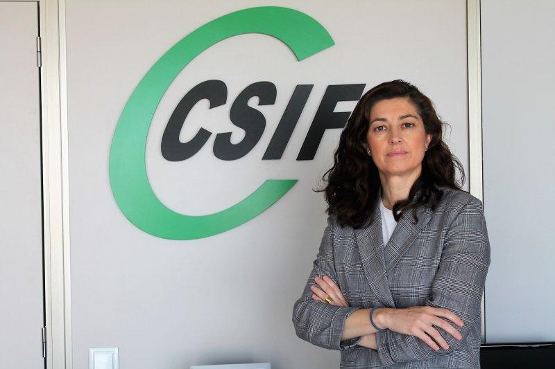 Alicia Torres, presidenta de CSIF Comunidad Valenciana