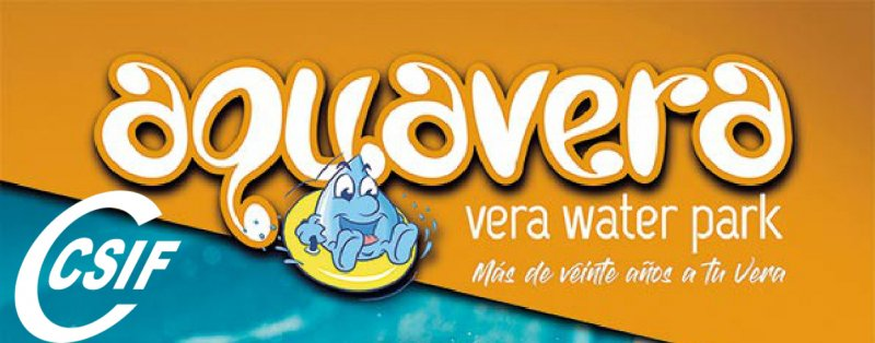 AQUAVERA- Oferta especial Verano 2020 para afiliados a CSIF
