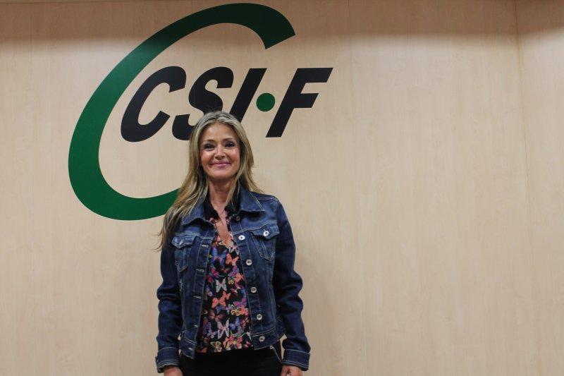 Ana Márquez, presidenta de CSIF Justicia Valencia