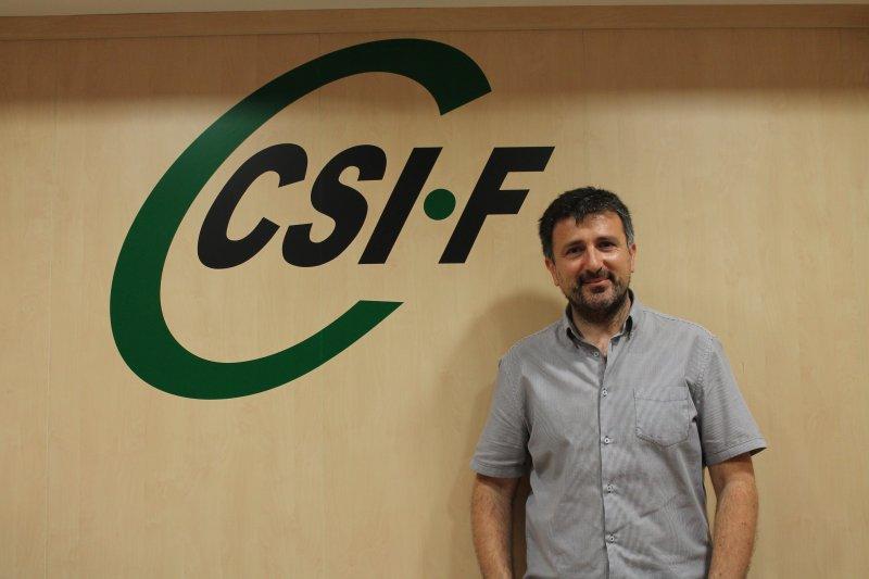 Arturo Losada, presidente de CSIF Justicia Comunidad Valenciana