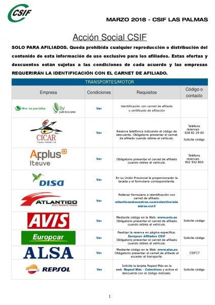 Acción social Canarias