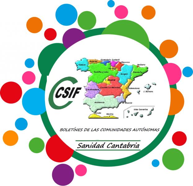 Boletín de las CC:AA de Csif Sanidad Canatbria