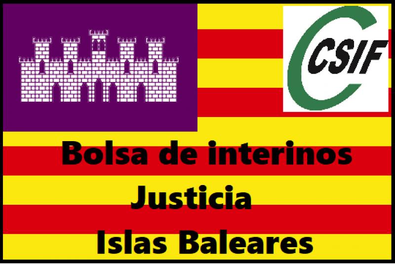 Bolsas de trabajo definitivas de Funcionarios interinos y cupos de reserva de Islas Baleares