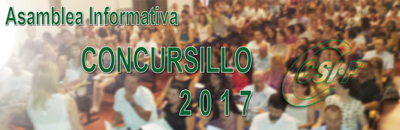 """Cádiz - Asambleas Informativas sobre Comisiones de Servicio (entre las que se encuentra el """"CONCURSILLO"""")"""