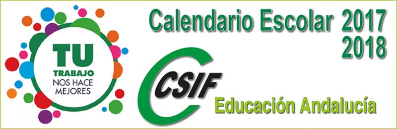 Calendarios Escolares 2017/2018