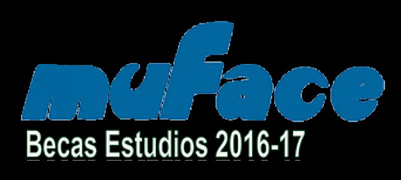 MUFACE - Becas de Estudios para mutualistas para el curso 2016-2017