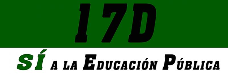 MANIFIESTO EN DEFENSA DE LA EDUCACIÓN PÚBLICA