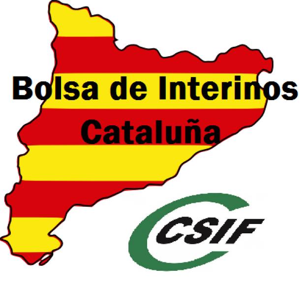 Publicación Listas definitivas integrantes Bolsa de Interinos Cataluña 2017