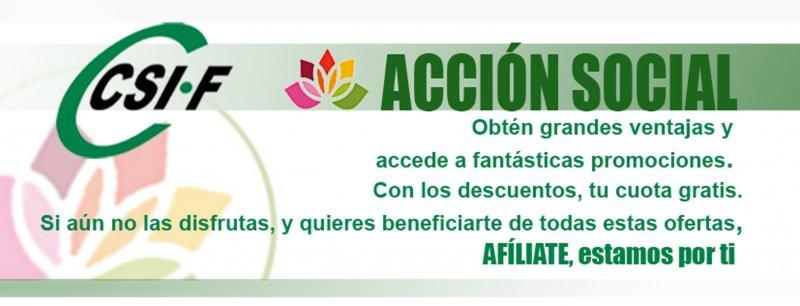Acción social CSIF
