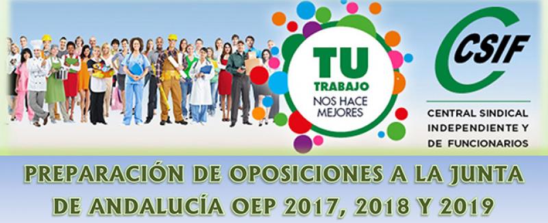 Preparación de oposiciones Junta de Andalucía OEP 2017, 2018 y 2019 Cuerpo C1.1000