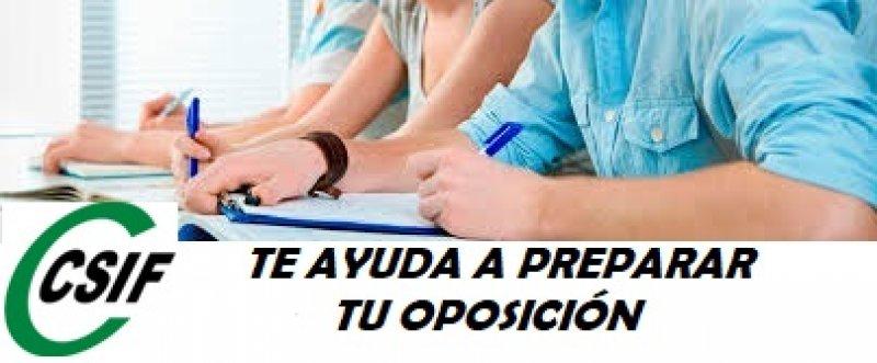 CSIF Preparación de Oposiciones